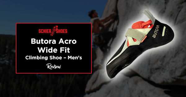 butora acro wide fit climbing shoe – men's review