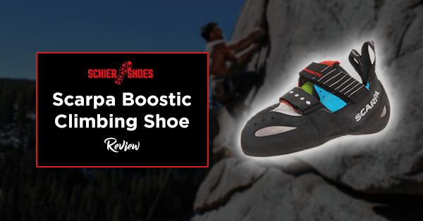 scarpa boostic climbing shoe review