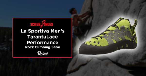 la sportiva men's tarantulace performance rock climbing shoe review
