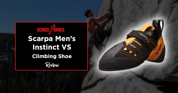 scarpa men's instinct vs climbing shoe review