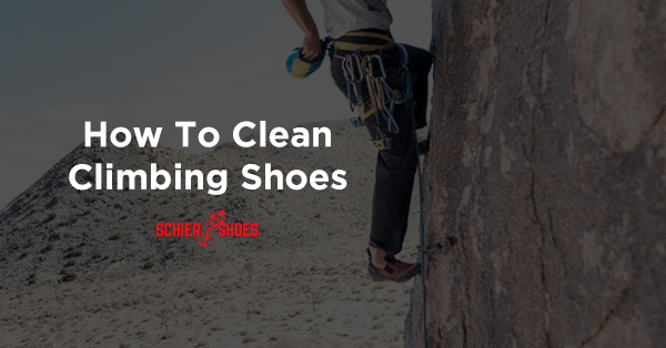 how to clean climbing shoes